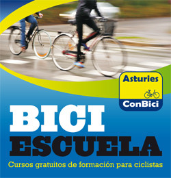 Biciescuela. Cursos de formación gratuitos para ciclistas. Convocatoria 2017