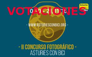 Segundo concurso fotográfico Asturies ConBici. 10 octubre al 21 noviembre 2016