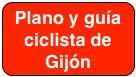 Plano-Guía ciclista de Gijón