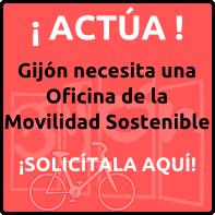 Act a queremos una oficina de la movilidad sostenible en for Oficina de consumo gijon