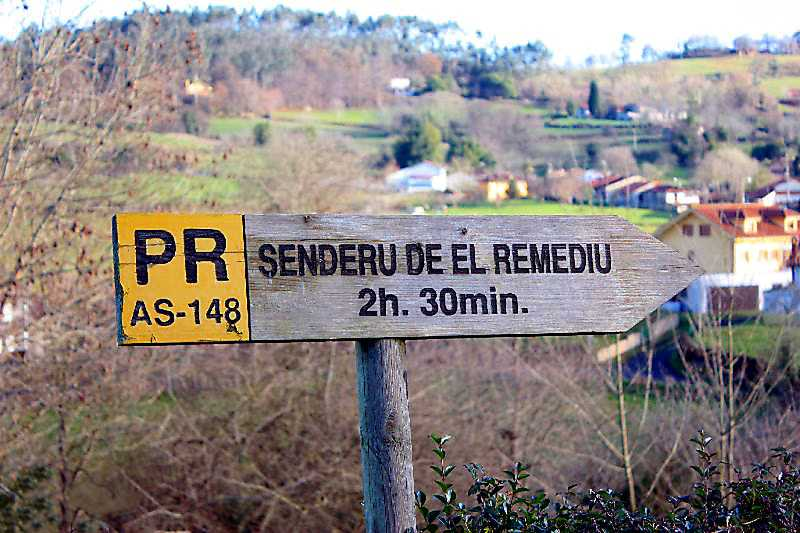 PR.AS-148 Senderu de El Remediu