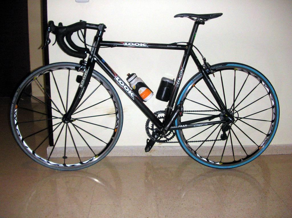 Robo bicicleta de carretera look kg461 en trastero de oviedo - Se puede pintar el aluminio ...