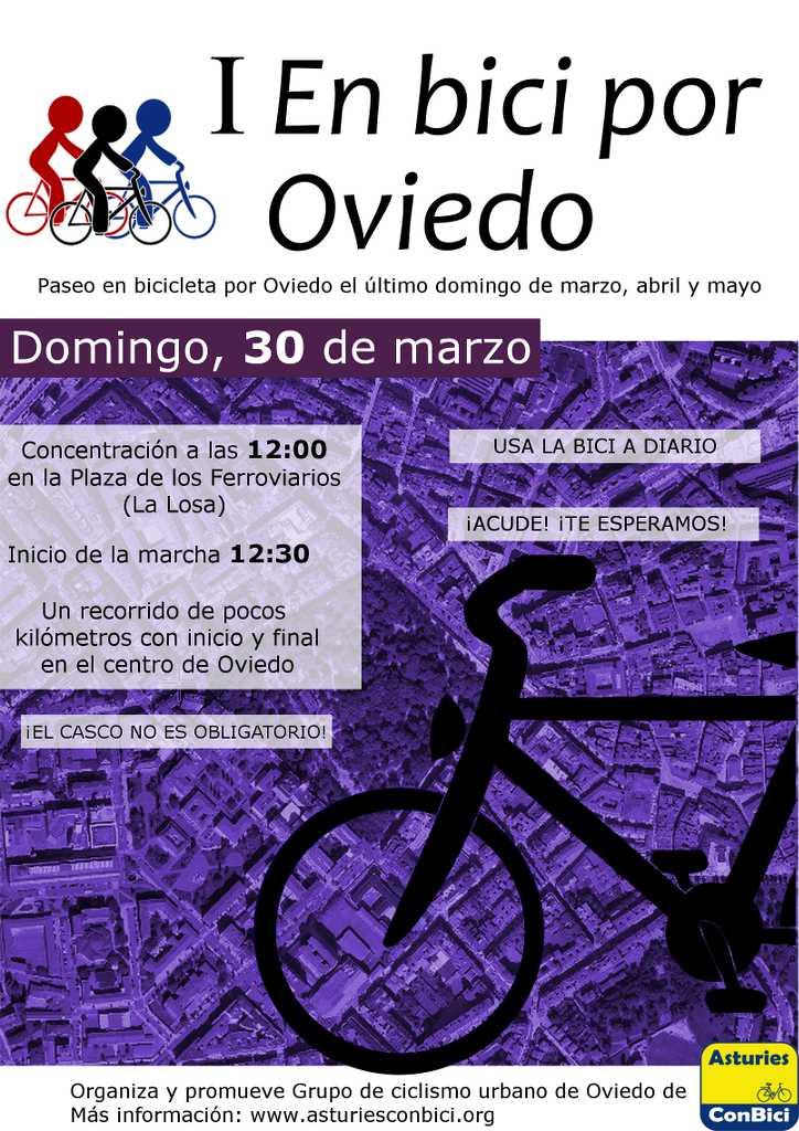 Asturias con niños a dónde vamos hoy? En bici por Oviedo