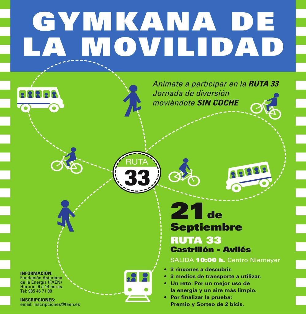 Asturias con niños: Gymkana de la movilidad en Avilés
