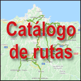 Catálogo rutas