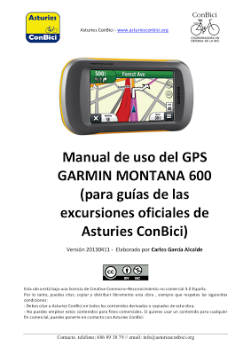 Manual GPS Garmin Montana 600
