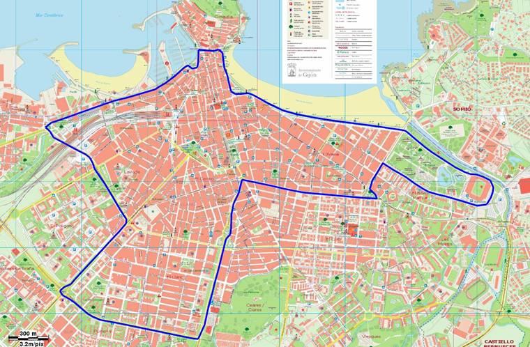 Mapa Carril Bici Gijon.Actividades En Oviedo Y Gijon Durante La Semana Europea De La Movilidad 2013