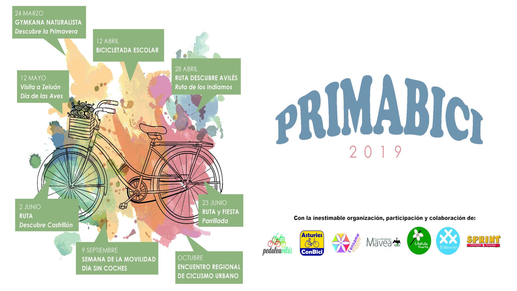 Actividades Primabici Avilés 2019